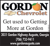 Gordon chevy od ad